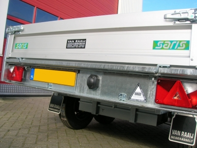 SARIS PKC ROYAL300 KIPPER 270X170 3000KG TANDEMASSER