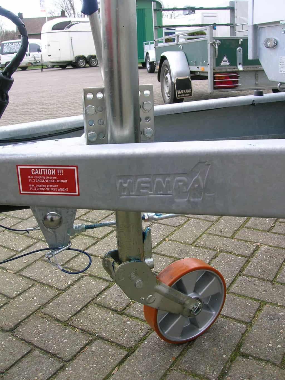 HENRA PL27C 401X185 2700KG PLATEAUWAGEN