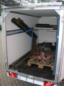 SARIS BMG135V GESLOTEN WAGEN MAATWERK INBOUW BINDSYSTEEM