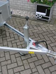 ANSSEMS BSX750 205X120 groot opklapbaar steunwiel