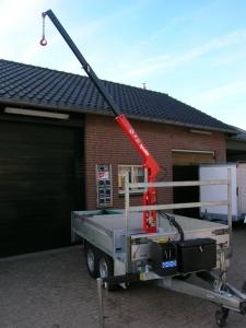 Maatwerk Kraanopbouw Plateauwagen