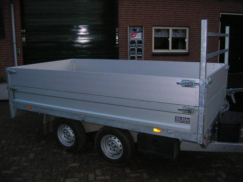 SARIS Plateauwagen optie vlakke opzetborden