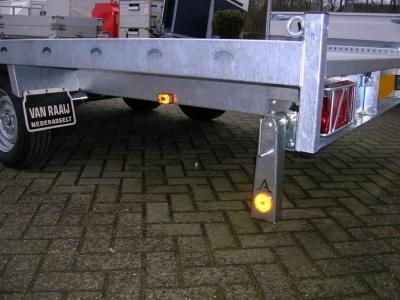 ANSSEMS MSX TRANSPORTER OPTIE STEUNPOOTSET