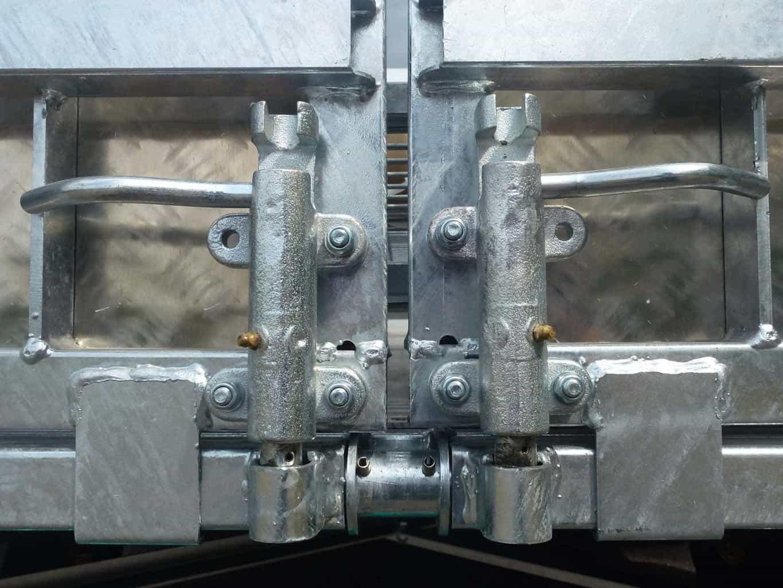 TwinTrailer detail sluiting